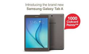 Samsung Galaxy Tab A The everyday, everything Tablet  From £209 with eCoupon code TDX-WRTX - Tesco Direct