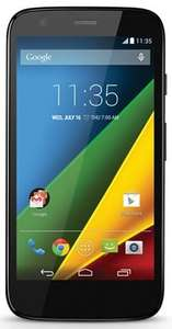 Motorola Moto G with 4G (250 mins, 5000 texts, 500MB data). £9 a month for 24 months = £216 with Tesco Mobile.  £20 Tesco gift voucher.