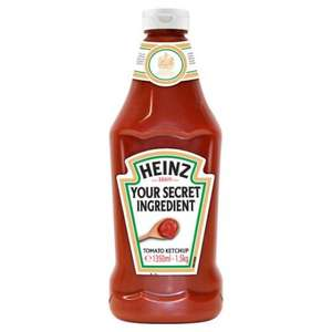 Heinz Tomato Ketchup 1.5kg £2.99 @ home bargains