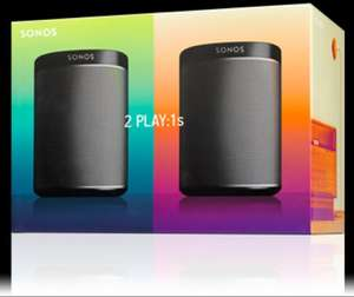 2 Sonos Play 1's Wireless speakers £299 @ Sonos Shop
