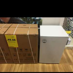 Servis under counter fridge (with freezer compartment) £49.50 @ Tesco Extra nationwide!