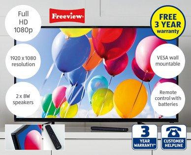 "42"" LED Full HD TV £199.99 at ALDI Sun 31st May"
