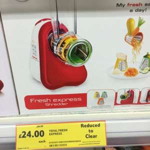Tefal fresh express shredder at £24 Tesco St Stevens hull