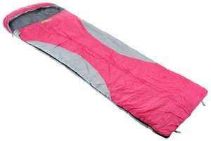 NEW LISTING Urban Escape Garda Envelope Sleeping Bag Pink Adult Single 3 Season Double Layer -  £3.00 @ Ebay/ Halfords