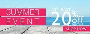 At least 20% Off in their summer sale + Extra 20% Off using discount code at Barratts Shoes