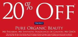 20% Off all orders at Neals Yard Remedies