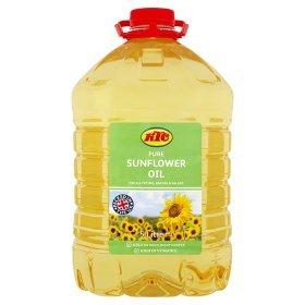 5 Ltr.KTC Sunflower Oil £3.97 @ Asda