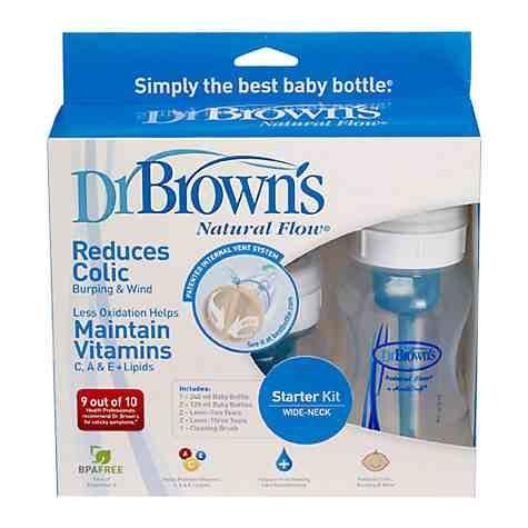 John Lewis, Dr Brown's natural flow starter kit £13.49