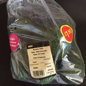 Avocados  - 7 in a pack (ripen at home) £1.50 @ Asda