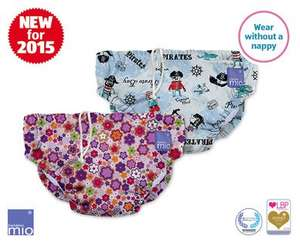bambino mio reusable swim nappies various sizes, see website £3.99 - Aldi