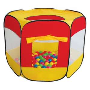 Ball Pit with 100 Balls £14.99 @ Poundworld Plus