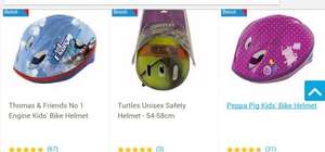 Half Price or Better on Selected Children's Character Bike Helmets From £4.50 Free C&C @ Tesco Direct