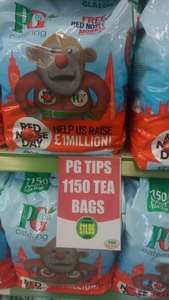 PG Tips 1150 bag £11.99 @ Pak Supermarket