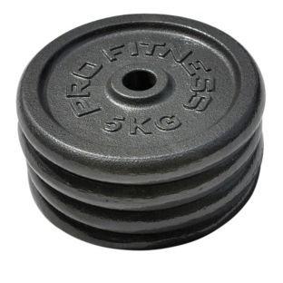 4 x 5Kg Cast Iron Weight Discs @ Argos £19.99
