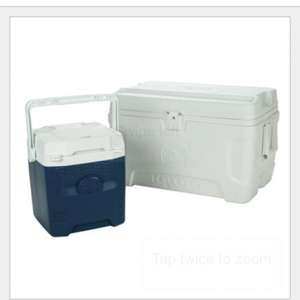 Costco Igloo 54 Quart Maxcold Marine Ultra Cool Chest + Igloo 12 Quart 18 Can Quantum Cool Box £39.99