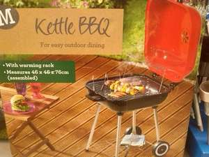 BarBQ anyone? Family Size Square Kettle Style Trolley Barbecue Reduced Now Only £15 @ Morrisons