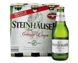 Very nice German lager £3.99 from Aldi (Steinhauser)