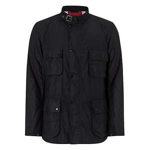 Barbour International Bede Lightweight Cotton Field Jacket, Black £124.50 @ John Lewis