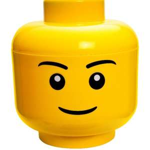 Lego storage head large- boy £12.98 @ Argos