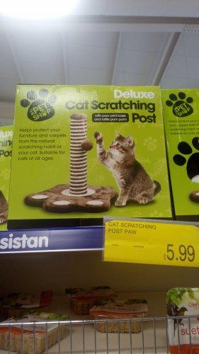 Cat Scratch Post £5.99 @ B&M