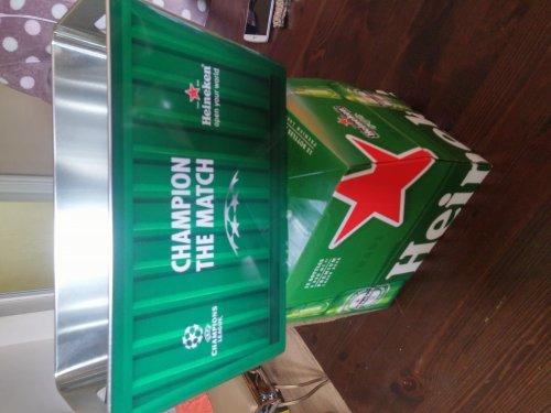 Lager Beer Heineken 12x330 bottles + FREE Ice Bucket Champions League Edition £10 @ Sainsbury's