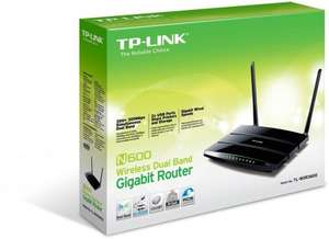 TP-LINK N600 WDR3600 Dual Band Wireless Router (dd-wrt Compatible) £34.99 @ Argos/ebay
