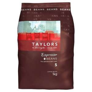 Taylor's of Harrogate 2 x 1kg coffee beans £20 tesco