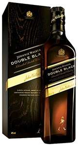 Johnnie Walker Double Black Whisky 70 cl only in £27.71 under Amazon Lighting Deal