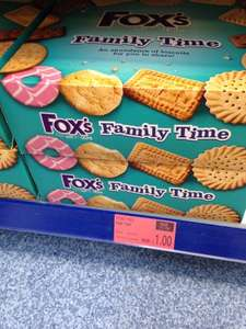Fox's Family Time 735g Box of Biscuits £1.00 at B&M