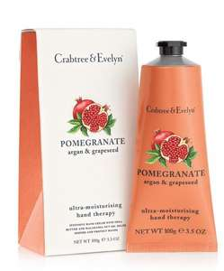 Free Pomegranate Hand Therapy Cream with orders over £40 on Crabtree & Evelyn