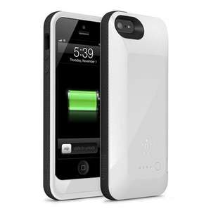 Belkin Grip Power 2000mAh Rechargeable Battery Case for iPhone 5/5S White £23.99 @ it4less ebay