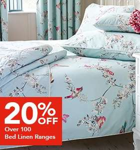 Dunelm mill sale in store and online 20% off loads of items