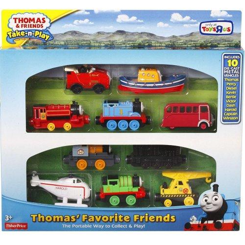 Thomas Take 'n' Play Favourite Friends Gift Set £24.99 @ Toys R Us