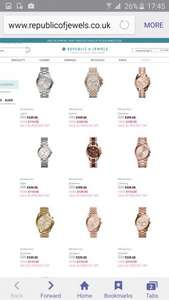 Micheal kors watches 50% off from £114.50 @ republicofjewels