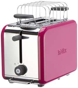 Kenwood TTM029 kMix Boutique 2 Slice Toaster - Magenta £19.99 (Free Click & Collect or £1.95 Standard Delivery) Hughes @ Tesco Direct