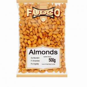 Fudco Almonds 500g for £4.00 @ Morrisons