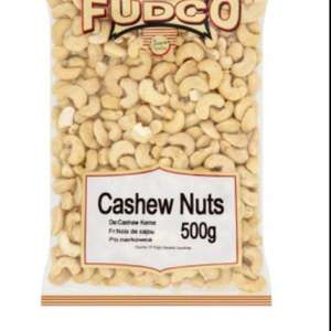 Fudco Cashew nuts 500g for £4.00 @ Morrisons