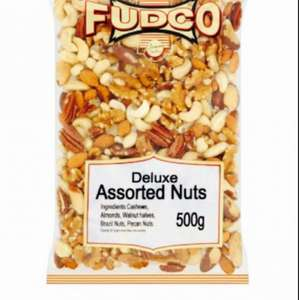 Fudco Assorted Nut Mix 500g for £4.00 @ Morrisons