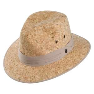 Jaxon Hats Cork Safari Fedora Hat - Natural was £26.95 now £9.95 @ Village Hats