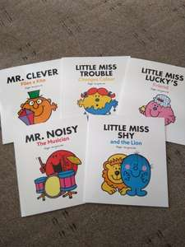 Mr Men and Little Miss books £1 @ Poundland
