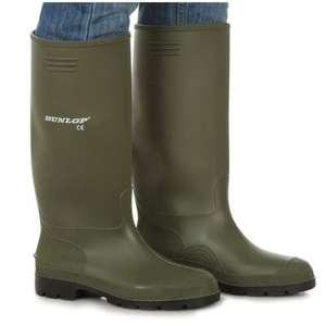 Ladies & mens green dunlop wellington boots,wellies,gardining,rain,rubber  - Size 9 £9.95 Delivered - Footwear Sensation. / Amazon