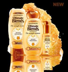 Free Sample Pack of Garnier Ultimate Blends The Strength Restorer Shampoo, Conditioner and Serum
