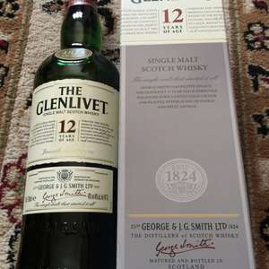 The Glenlivet 12 year old single malt Scotch whisky - £16.70 instore @ Tesco