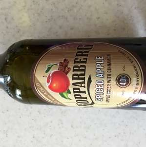 Kopparberg spiced apple cider 500ml 60p in store at asda reduced to clear (rrp£2.25)