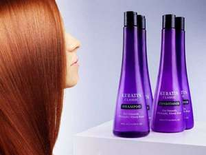 Keratin Classic Shampoo or conditioner £1 each @ Home Bargains