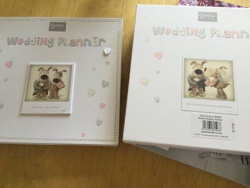 Boffle wedding planner £2.99 - Home Bargains
