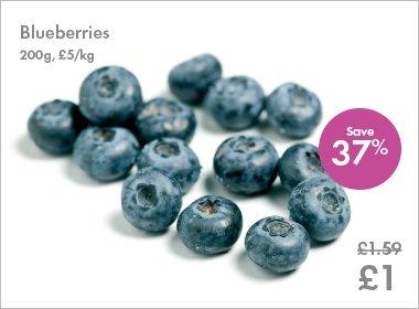 Oaklands Blueberries (200g) - £1 @ Lidl...