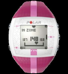Polar FT4 Heart Rate Monitor / Sports Watch (Pink) -  £34.99 Delivered with Amazon!
