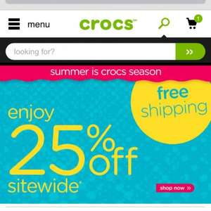 CROCS - 25% off plus free delivery  - Crocband LoPro Slide - £18.74