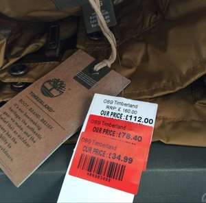 Timberland waterproof jacket £31.50 RRP £160 - Boundary Mills